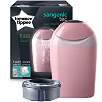 Tommee Tippee Sangenic Tec Nappy Disposal Tub, Whisper Pink
