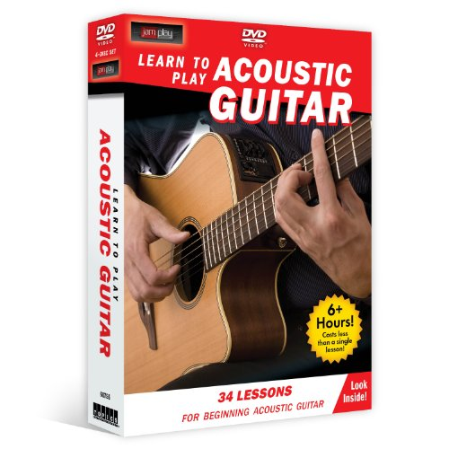 Learn to Play Acoustic Guitar (4-DVD) for beginners by Topics Entertainment