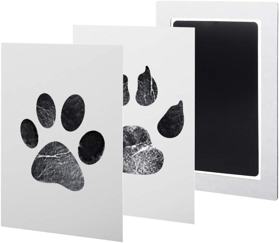 Olio da stampa Set di tamponi di inchiostro per impronte delle mani e delle impronte del bambino per neonati e animali domestici As the pictures EWRW Marina Militare