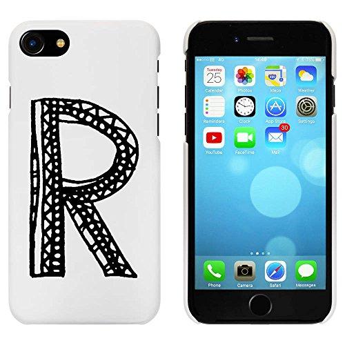 Blanc 'Capital R' étui / housse pour iPhone 7 (MC00063072)
