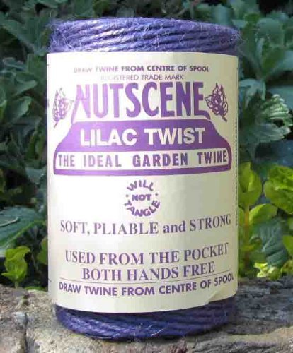 3 Rolls Nutscene Heritage 3-ply Jute Twine: 120m, Lilac