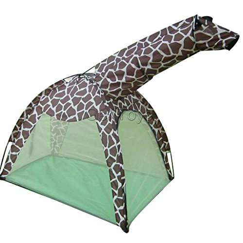 Pet Tech Hanging Jungle (EUTTEUM Portable Cute Giraffe Playhouse Kids Play Tent Cubby House Playhut Toy House)