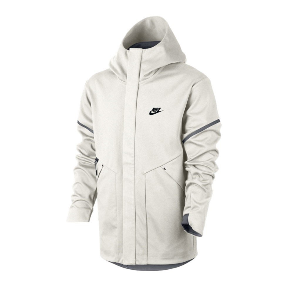 Nike Tech Fleece Windrunner Repel Tech Pack Jacket Bone Carbon Size Large  at Amazon Men s Clothing store  1e2b16917