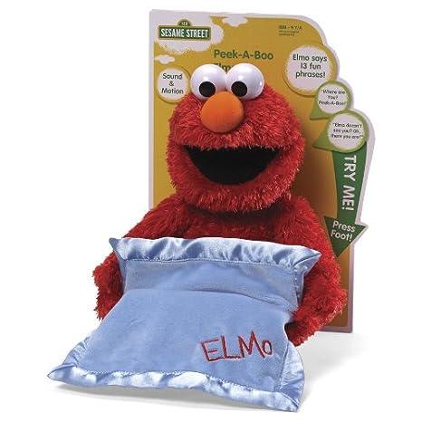 Gund Peek-A-Boo Elmo Plush  Amazon.co.uk  Toys   Games 54af16788
