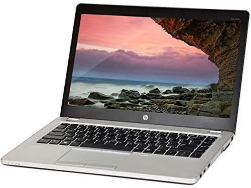2017 HP 14'' HD Premium Flagship Business Ultrabook Laptop Computer, Intel Dual Core i7-3687U 2.1Ghz CPU, 8GB RAM, 180GB SSD, VGA, DisplayPort, Webcam, Windows 10 Professional (Certified Refurbished) by HP