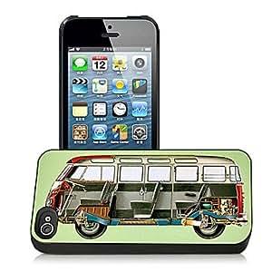 comprar Patrón de bus caso el efecto 3D para iPhone5
