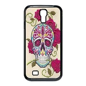DIY Hard Cell Phone Case for SamSung Galaxy S4 I9500 Cover Case - Skull Photos HX-MI-083427