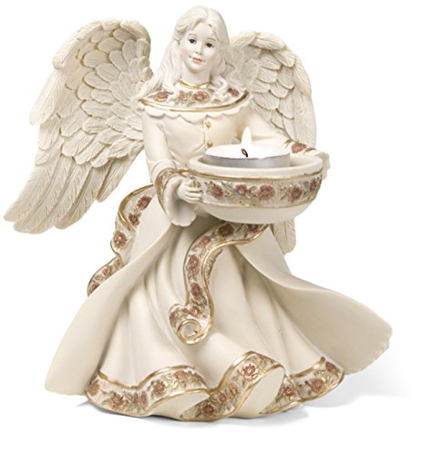 (Pavilion Gift Company Sarah's Angels Tapestry Series Angel Tea Light Holder,)