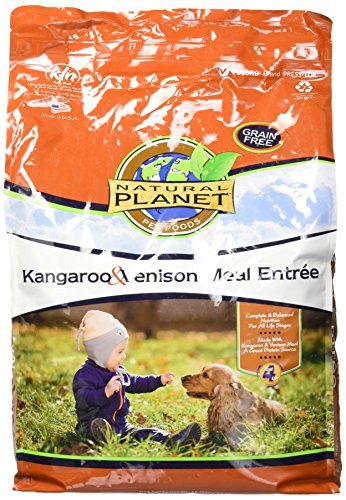 Tuffys Pet Foods Inc Natural Planet Dog Food-Kangaroo & Venison 15lb For Sale