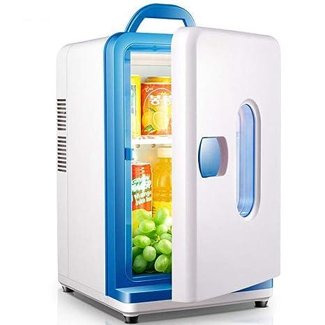 Mini Nevera Blanco, Portátil Frigorífico 12L Refrigeración y ...