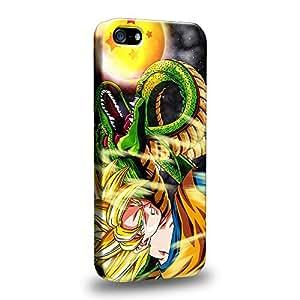 Case88 Premium Designs Dragon Ball Z GT AF Son Goku Super Saiyan Goku Protective Snap-on Hard Back Case Cover for Apple iPhone 5 5s by icecream design