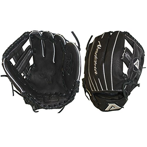 - Akadema Pattern T-Web Mesh Back and Leather Palm Gloves with Open Back and Medium Pocket, 10.5