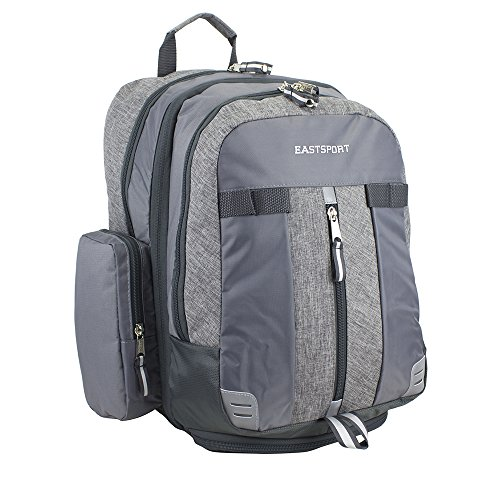 Eastsport Oversized Expandable Backpack with removable EasyWash bag (Chambray Flannel)