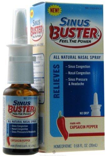 Sinus Buster classique sinus et maux de tête Formule esprit