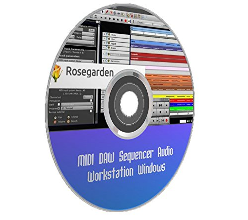 Digital Audio Workstation MIDI DAW Sequencer Windows PC Computer Software