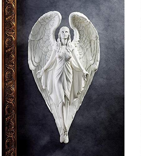 Design Toscano Spiritual Path Angel Wall Sculpture