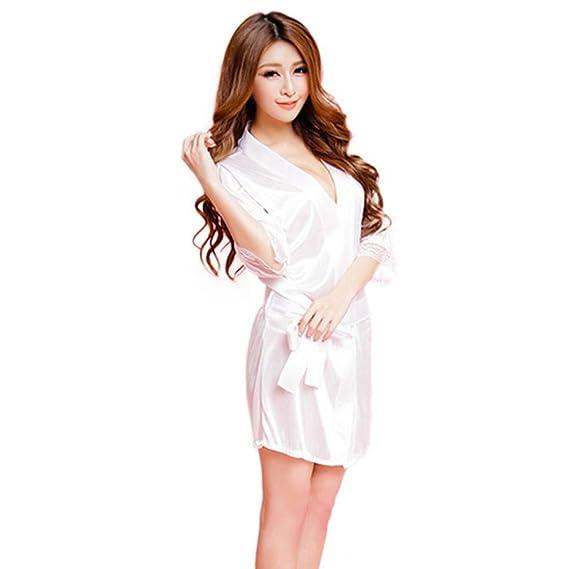 Lencería Sexy ❤️Btruely Herren Ropa Interior Mujer Vestido Mujer Sexy y Elegante de Aspecto Brillante
