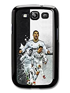 Cristiano Ronaldo Collage Real Madrid Football case for Samsung Galaxy S3 A358 by mcsharks