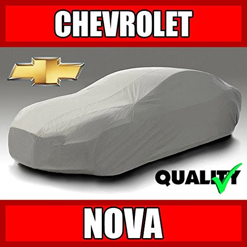 autopartsmarket Chevy Nova 4-Door Sedan 1985 1986 1987 1988 Ultimate Waterproof Custom-Fit Car Cover (1931 Ford Model A 4 Door Sedan)