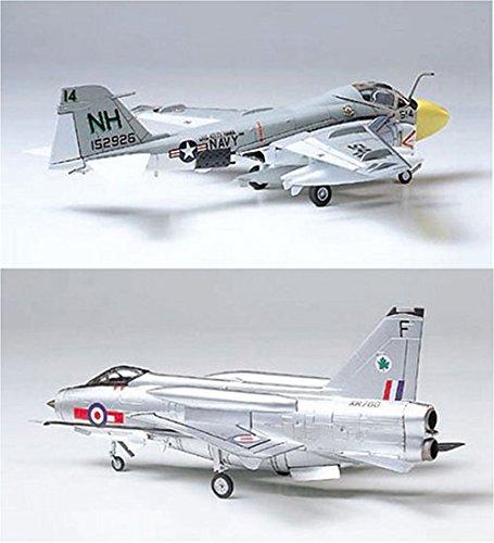 2 Tamiya Model Plane Bundle – B.A.C. Lightening F Mk.6 and Grumman A-6A Intruder (Japan Import)