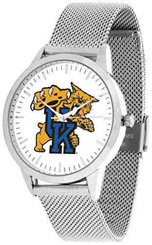 (Kentucky Wildcats - Mesh Statement Watch - Silver Band)