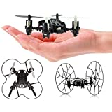 Top Race® 4 Channel Micro Quad Copter Rolling Copter, Fly, Roll, and Flip