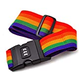 Liobaba Outdoor Travel Luggage Belt Strap Suitcase Tie Down Security Safety Belt