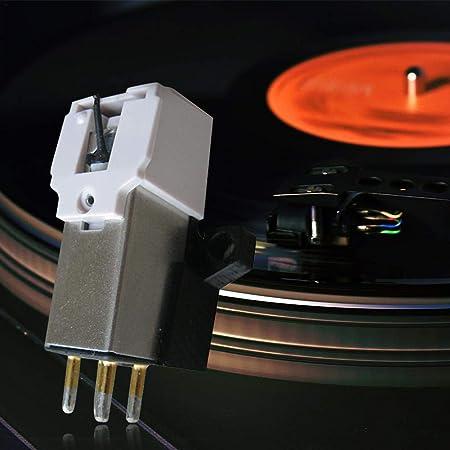 Sensecrol Cartucho Stylus con Aguja de Vinilo LP para Vinyl Record ...