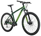 Diamondback Bicycles Overdrive St Mountain Bike, Green, 18'/Medium