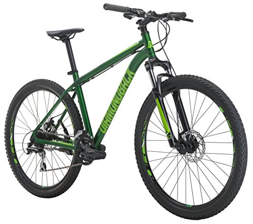 Diamondback Bicycles Overdrive St Mountain Bike, Green, 18″/Medium For Sale