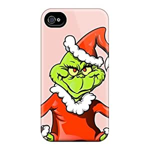 Shock Absorbent Hard Phone Case For Iphone 6plus With Customized Fashion The Grinch Christmas Illustration Image ColtonMorrill
