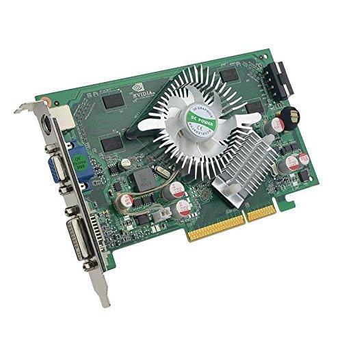 (Nvidia GeForce 7600GS 7600 GS 512MB DDR2 AGP 8X TVO VGA DVI Video Card (Please Read Description))
