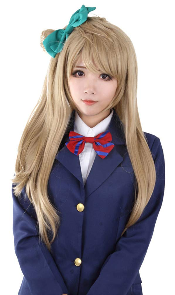 Halloween Love Live! Minami Kotori Synthetic Hair Straight Cosplay Wigs (Free Size)