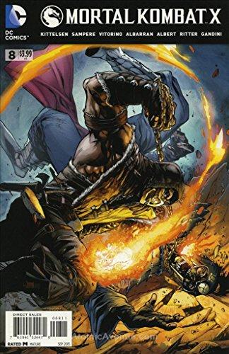 Mortal Kombat X #8 VF ; DC comic book