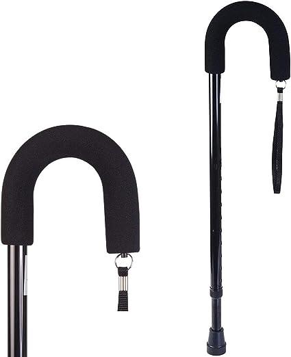 Amazon.com: Duro-Med Deluxe Bastón ajustable estándar, 502 ...