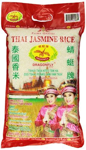 Dragonfly Thai Jasmine Rice, 10-Pound