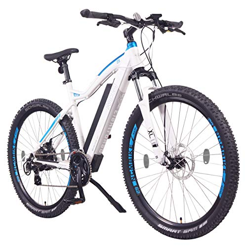 NCM Moscow Electric Mountain Bike, E-Bike, 250W, E-MTB, 48V 13Ah 624Wh Battery (29' Black)