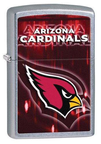 Personalized Zippo Lighter NFL Arizona Cardinals - Free Engraving