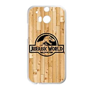 HTC One M8 Jurassic World pattern design Phone Case HJW1193638