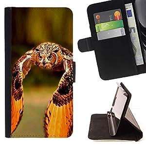 Momo Phone Case / Flip Funda de Cuero Case Cover - Orange Wings Plumes d'été - LG Nexus 5 D820 D821