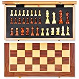 Best Chess Sets - Wooden Chess Set: Universal Standard Wooden Chess Board Review