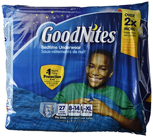 : Goodnites Underwear - Boy - Large/X-Large - 27 ct