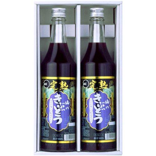 TasukuMiyuki J37 gift set (100% fruit juice grape juice 600mlX2 pieces) by TasukuMiyuki
