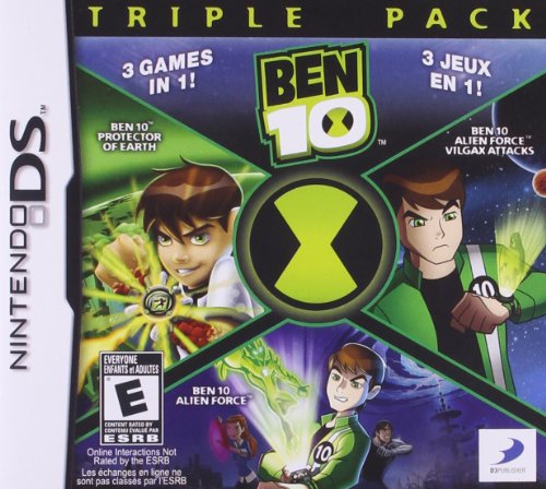 Ben 10 Triple Pack - Nintendo DS