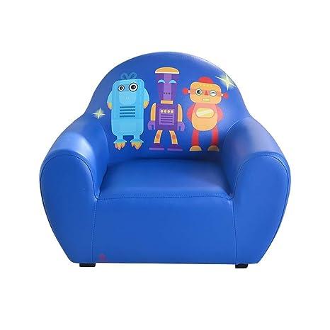 LIUYONGJUN Sofá para Niños, Robot De Dibujos Animados Sillón ...