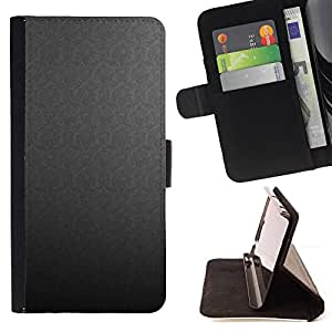 DEVIL CASE - FOR Samsung Galaxy S5 Mini, SM-G800 - Texture Gray - Style PU Leather Case Wallet Flip Stand Flap Closure Cover