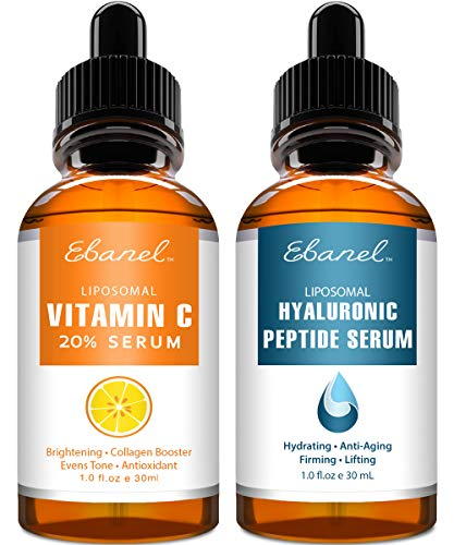 51%2B37zT9tVL - Ebanel Vitamin C Serum Hyaluronic Acid Serum for Face - Ultimate Anti Aging Serum Set - Deep Hydrating, Visibly Plump, Firm & Smooth Skin, Brighten & Even Skin Tone, Reduce Redness & Inflammation