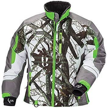 Arctic Cat Womens Team CAMO Lime Jacket