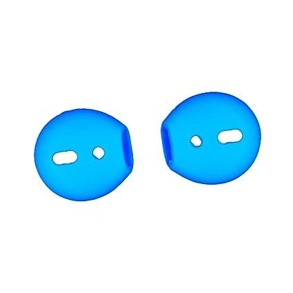 IPOTCH 2 pcs de Eartips para Auriculares de Silicona reemplazo para Apple Airpods iPhone 7 Accesorios