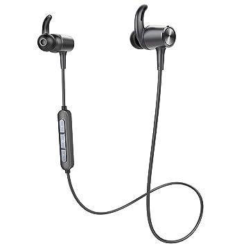 Auriculares Deportivos Bluetooth Inalámbricos Doosl Alta fidelidad de Sonido con cancelación de Ruido, para iPhone, Samsung Galaxy, Tablets, etc: Amazon.es: ...